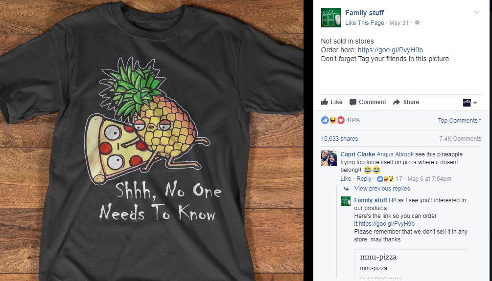 Top 9 Viral T-Shirts of 2018 1