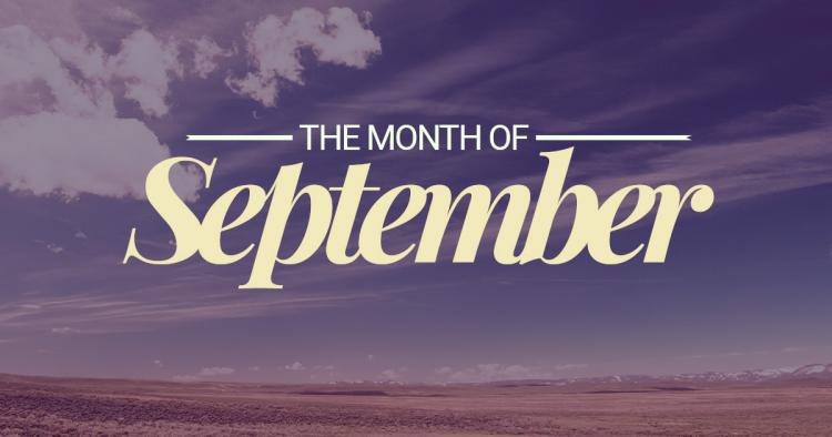 Important days of september