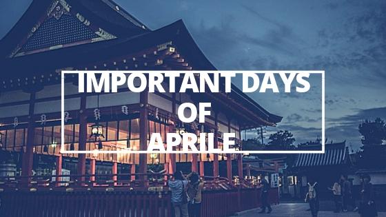 Days of April