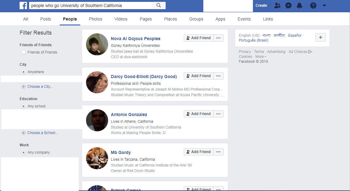 The A – Z Guide of Facebook Graph Search 2