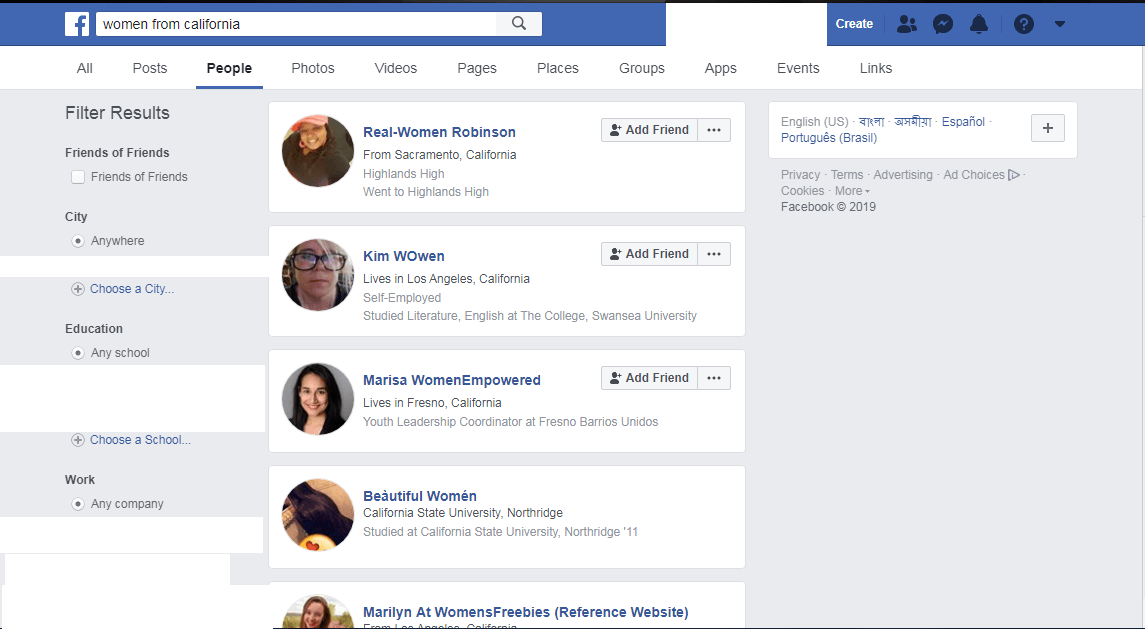 The A – Z Guide of Facebook Graph Search 3