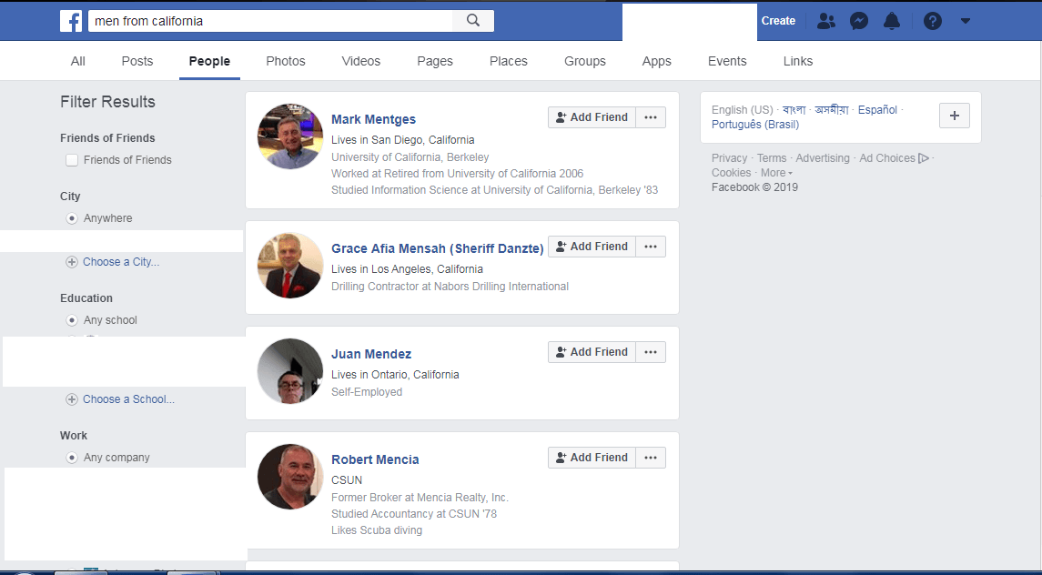 The A – Z Guide of Facebook Graph Search 4