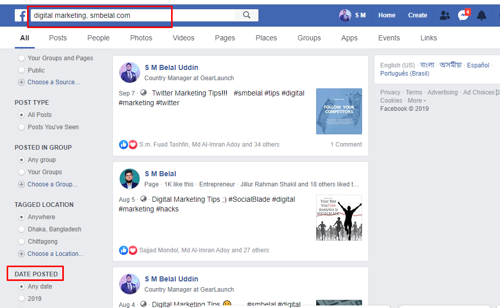 The A – Z Guide of Facebook Graph Search 9